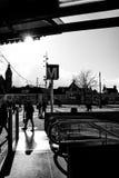 Metro in Amsterdam Stockbild