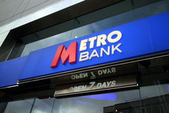 Metro Bank Stock Photo