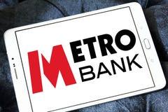 Metro banka logo Zdjęcie Stock