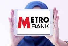 Metro banka logo Obraz Stock