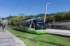 Metro in Bilbao, Spanien Stockbilder