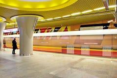 Metro borrado movimento Fotos de Stock Royalty Free