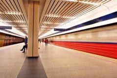 Metro borrado movimento Foto de Stock Royalty Free