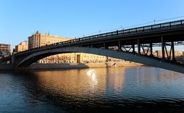 Metro bridge Stock Images