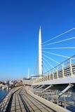 Metro Bridge in Golden Horn in Istanbul. Brand New Metro Bridge in Golden Horn in Istanbul Royalty Free Stock Image