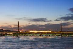 Metro bridge, Istanbul Stock Photography