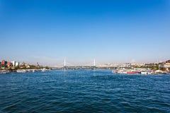 Metro bridge, Istanbul Stock Photos