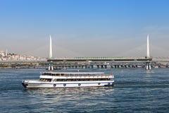 Metro bridge, Istanbul Royalty Free Stock Image