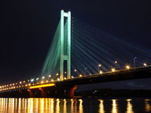 Metro Brige in Kiev Stock Photography