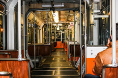 Metro in Budapest stockbild