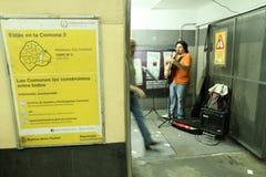 Metro in Buenos aires Stock Afbeelding