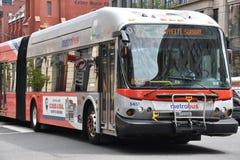 Free Metro Bus In Washington, DC Royalty Free Stock Image - 90837696