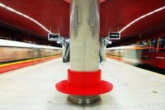 Metro. Car queue, subway station, subway passengers, public transport, platform , suburban train underground, a network of underground infrastructure royalty free stock photography