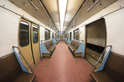 Metro carriage Royalty Free Stock Photo