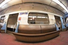 Metro carriage Royalty Free Stock Image