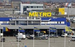 Metro Cash&Carry Supermarktzeichen Stockfotografie