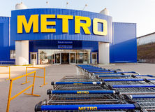 METRO Cash & Carry Samara Store Stock Photo