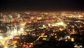 Metro Cebú en la noche imágenes de archivo libres de regalías