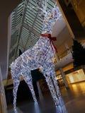 Metro centre. Photo of a Christmas decoration shopping centre Stock Photo