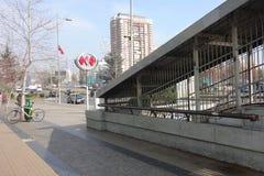 Metro chileno Imagem de Stock Royalty Free