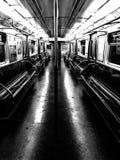 Metro cisza obrazy stock