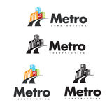Metro Construction Royalty Free Stock Photo