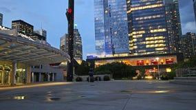 Metro Convention Center in Toronto Van de binnenstad wordt gevestigd naast de CN Toren 7-27-2018 Stock Foto