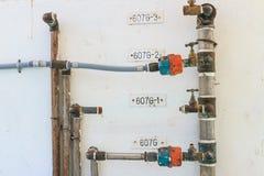 Metro de abastecimiento de agua Fotografía de archivo libre de regalías