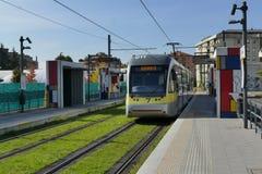 Metro de Bérgamo imagen de archivo libre de regalías