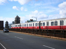Metro de Boston Imagenes de archivo