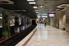 Metro de Bucarest Fotografía de archivo libre de regalías