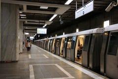 Metro de Bucarest Imágenes de archivo libres de regalías