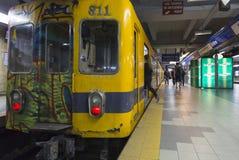 Metro de Bueos Aires, la Argentina Imágenes de archivo libres de regalías