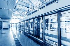 Metro de China Shanghai, nenhumas cenas fotos de stock royalty free