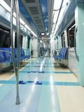 Metro de Dubai foto de archivo libre de regalías