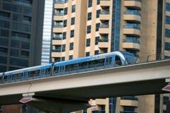 Metro de Dubai Imagens de Stock