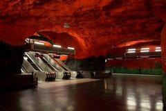 Metro de Estocolmo foto de archivo