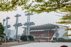 Metro 2010 de Guangzhou Pearl River, a abertura do estádio dos esportes dos Jogos Asiáticos Foto de Stock