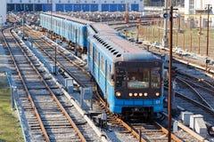 Metro de Kiev Fotos de archivo libres de regalías