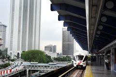 Metro de Kuala Lumpur Fotografía de archivo