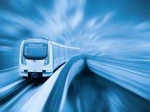 Metro de la ciudad Imagen de archivo libre de regalías