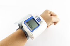 Metro de la presión arterial Fotografía de archivo