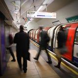 Metro de Londres Imágenes de archivo libres de regalías
