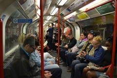 Metro de Londres - pessoa Fotos de Stock