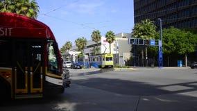 Metro de Los Ángeles en Long Beach almacen de metraje de vídeo