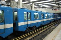 Metro de Montreal (metro) Foto de Stock Royalty Free