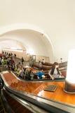 Metro de Moscú Imagen de archivo libre de regalías