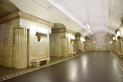 Metro de Moscou Fotos de Stock