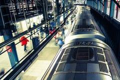 Metro de New York City fotografia de stock