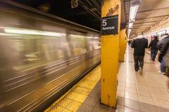 Metro de New York City Imagens de Stock Royalty Free